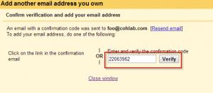 Step 9 Add Verification Code