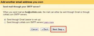 Step 9 Send Mail Through SMTP