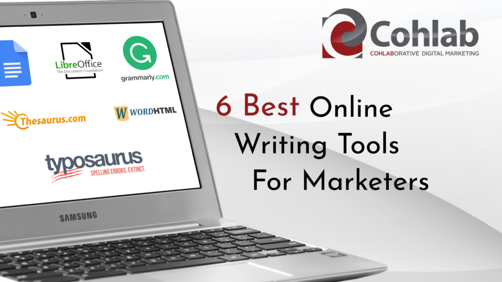 Cover Image for 6 Best Online Writing Tools For Marketing Blog