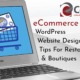 eCommerce WordPress Website Design Tips For Restaurants & Boutiques