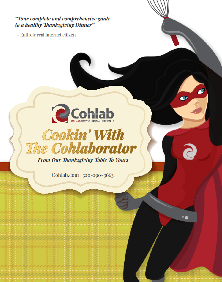 Cohlab Thanksgiving Cookbook Cover